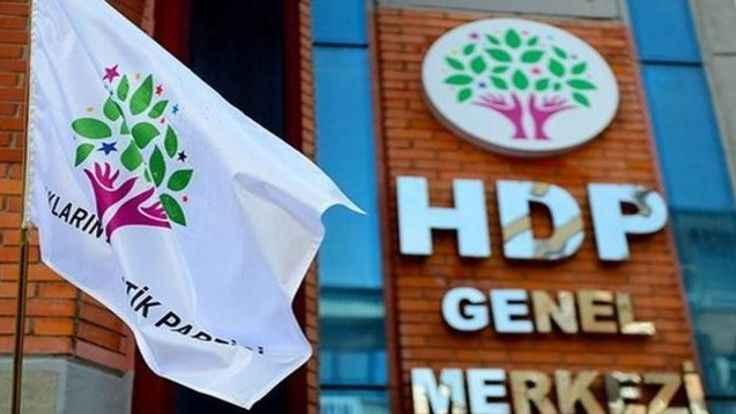 Kapatma davası iddianamesi HDP'ye tebliğ edildi