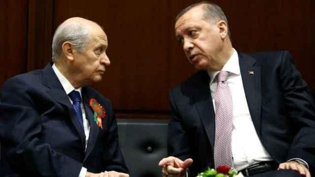 Cumhurbaşkanı Erdoğan ile Bahçeli Anayasa çalışmalarını görüşecek