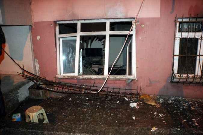 Evde tüp gaz sıkışması sonucu patlama