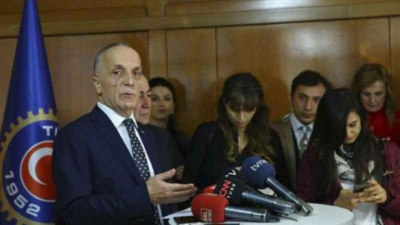 TÜRK-İŞ: Asgari ücret 2 bin 578 liranın altında olmamalı