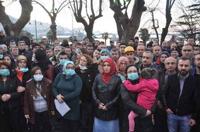 400 taşeron mağduru işçi kadro bekliyor...