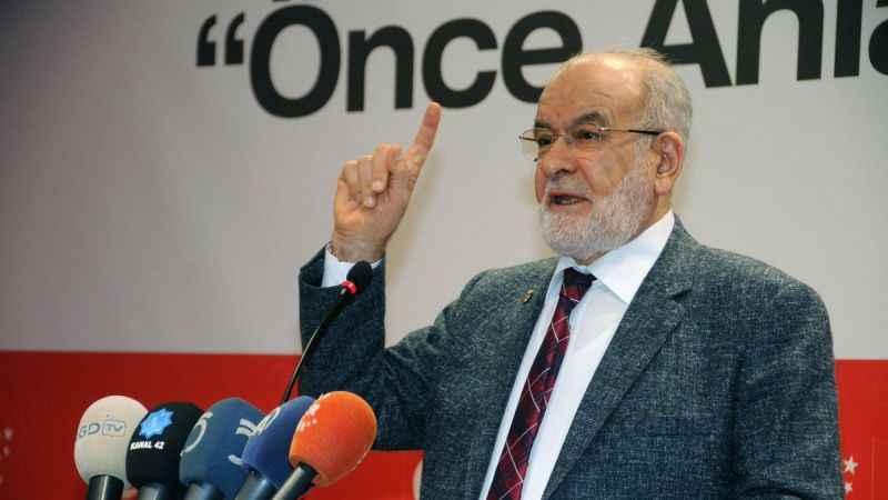 Saadet lideri Temel Karamollaoğlu: Reis'in adamları adında gruplar kuruluyor