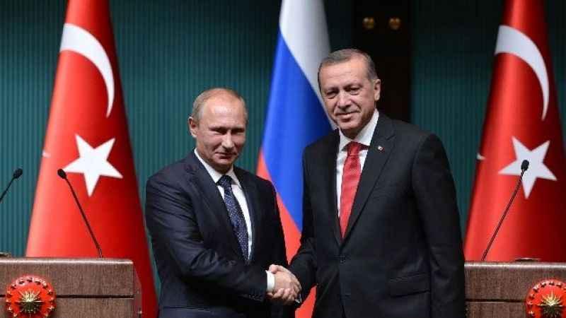 Putin'den Cumhurbaşkanı Erdoğan'a telefon! Arkasında Türk devleti yok