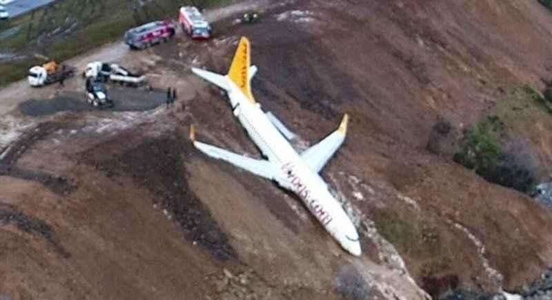 Trabzon'daki uçak kazası sonrası Pegasus'tan açıklama