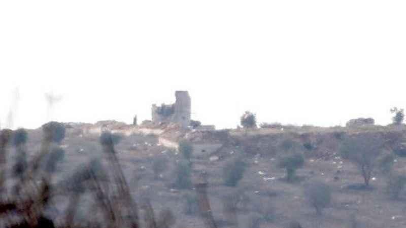 Afrin'de terör bayrakları indirildi