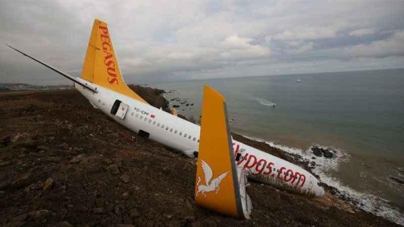 Trabzon'da pistten çıkan uçakla ilgili şok iddia! Pilot yanlış butona bastı