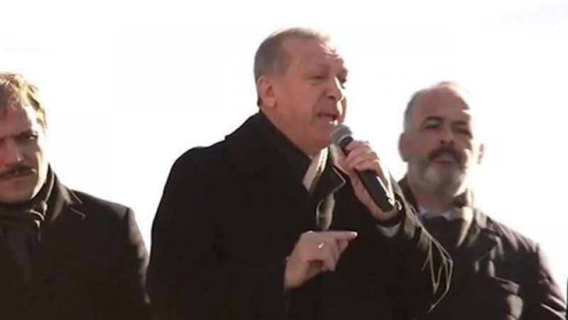 Taşeron işçisi kadro talep etti, Erdoğan tepki gösterdi!