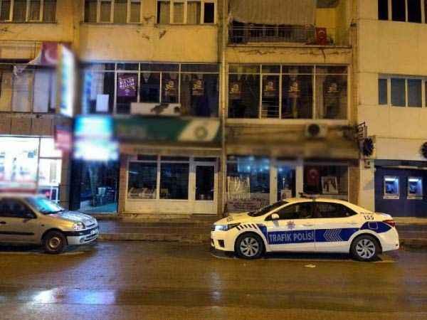 Şereflikoçhisar HDP İlçe binasına pompalı tüfekle ateş açıldı