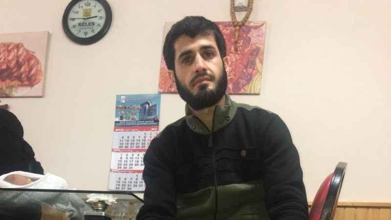 Protez bacaklı ÖSO mensubunun tek isteği Afrin'de savaşmak