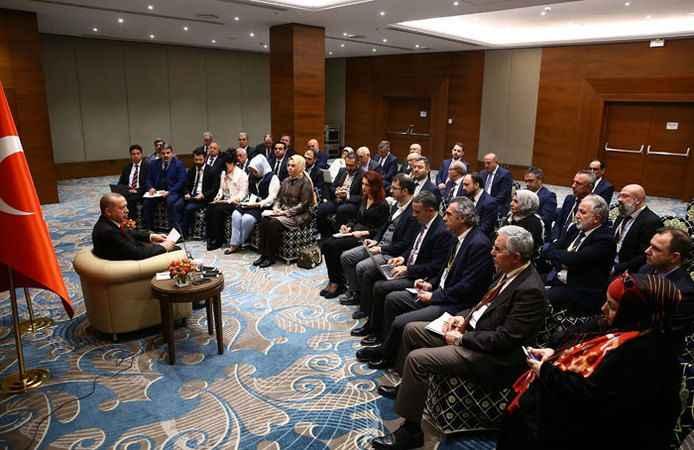 Cumhurbaşkanı Erdoğan: Suriye'deki katliamı gördükçe cumhurbaşkanı olmaktan utanıyorum