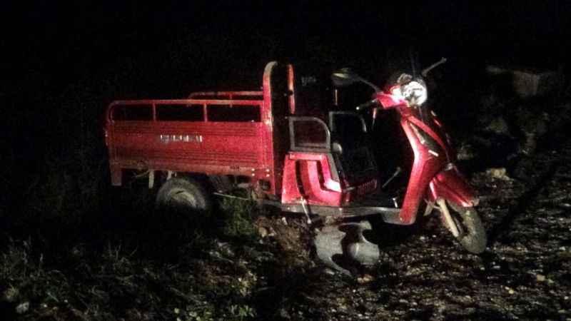 Bayramiç'teki motosiklet kazasında 2 kişi yaralandı