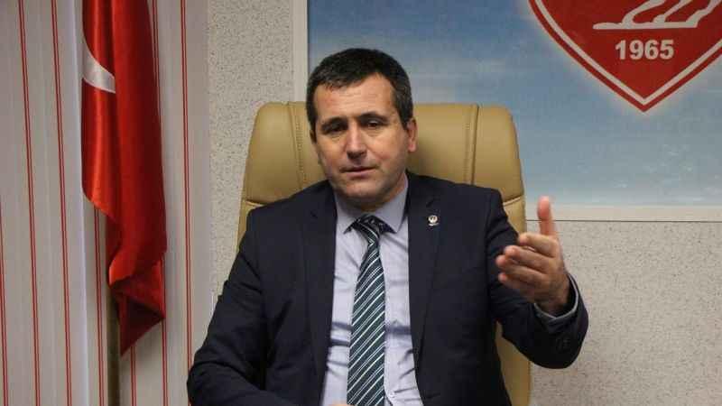 Samsunspor'un toplam borcu plakamızla eşdeğer