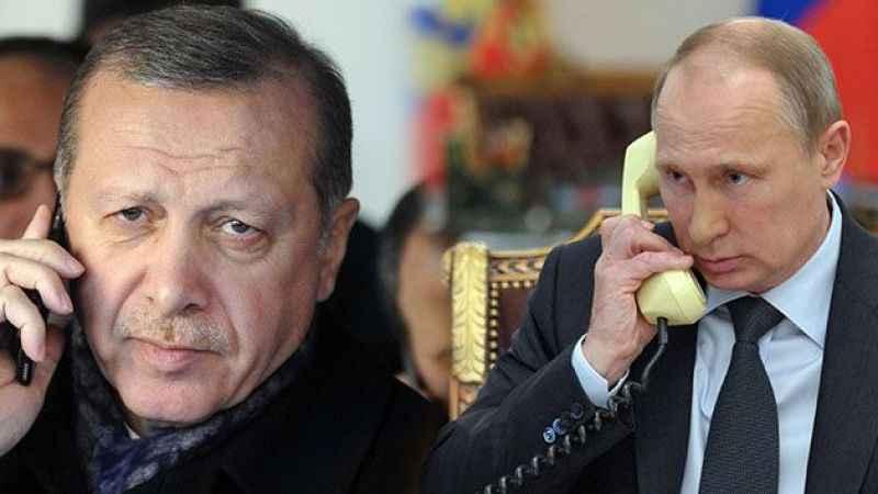 Cumhurbaşkanı Erdoğan'dan Putin'e yangın söndürme uçağı teşekkürü