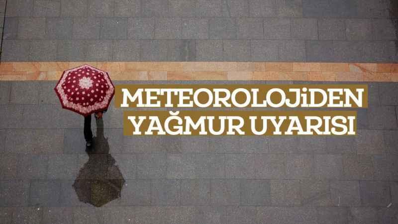 Meteoroloji'den İstanbul'a uyarı: Sağanak ve kuvvetli rüzgar geliyor