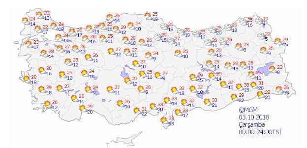 Meteoroloji Hava Durumu Persembe Gunu Yagis Var Son Dakika Haberler