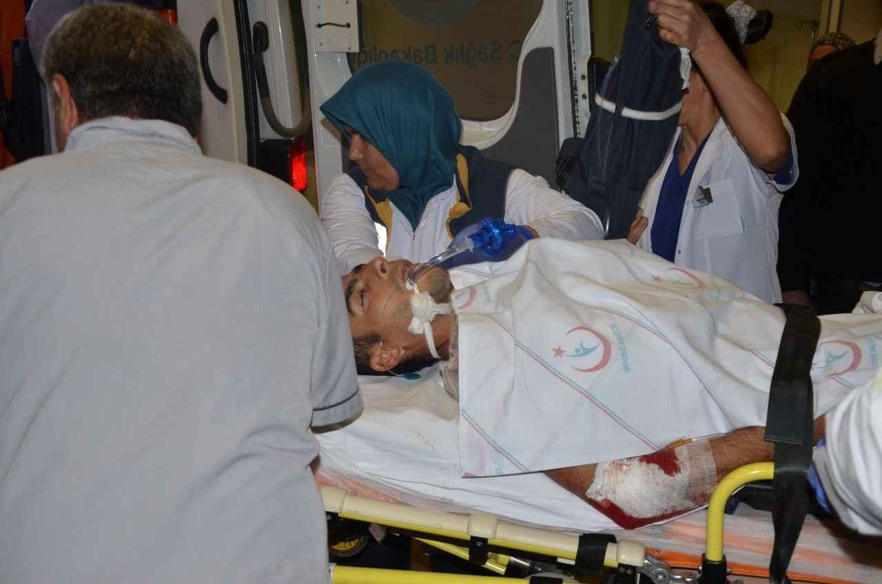 Serik'te silahlı kavga: 3 yaralı