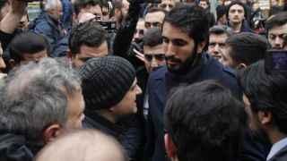 Gençlik yürüyüşü engellendi, basın açıklaması yapıldı