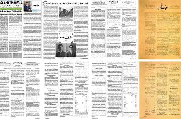 Bir asırlık Ayntâb Haberleri Gazetesi yeniden yayında