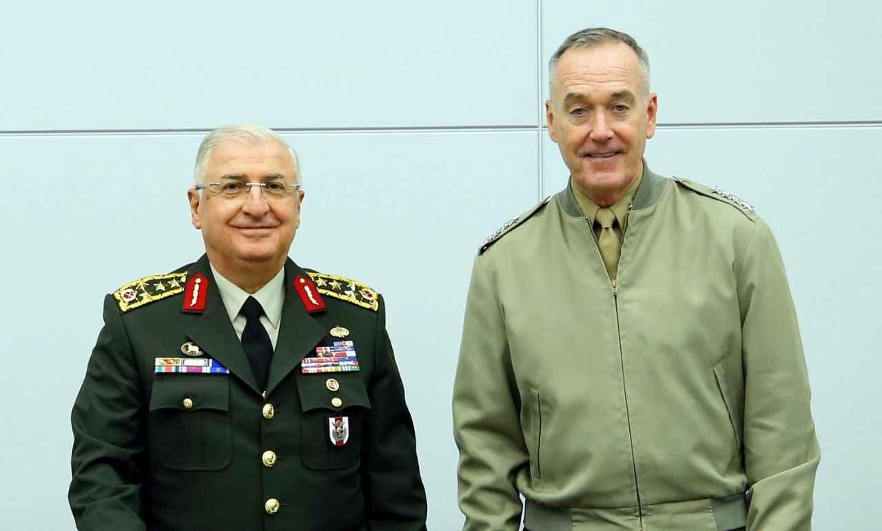 Genelkurmay Başkanı Güler ABD'li mevkidaşı ile görüştü