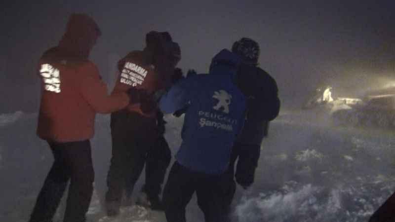 Uludağ'da telesiyej arızası: Mahsur kalanlar kurtarıldı