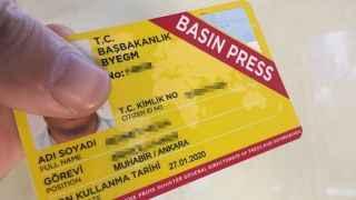 Cumhurbaşkanlığı'ndan 'basın kartı' için önemli açıklama