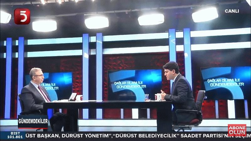 Ankara'da kim önde? Mansur Yavaş Tv5'te açıkladı