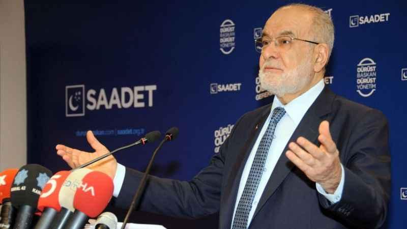 Karamollaoğlu: Cumhurbaşkanının Soylu'yu görevden alacağına inanıyorum