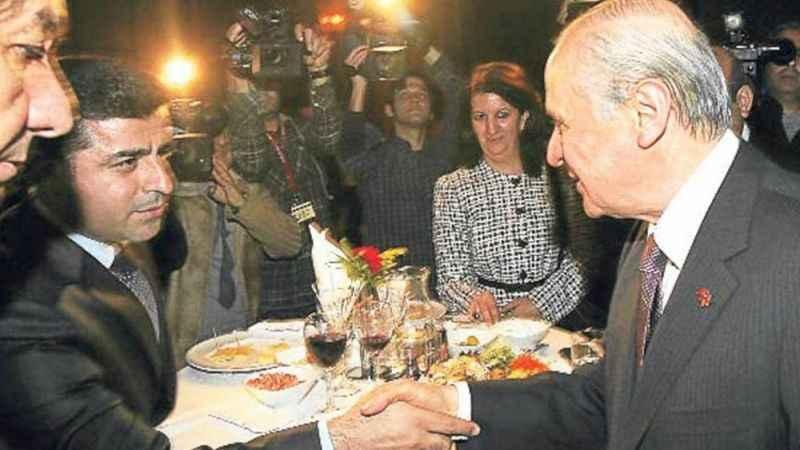 """Devlet Bahçeli'den tutuklu HDP'li Selahattin Demirtaş'a selam"""