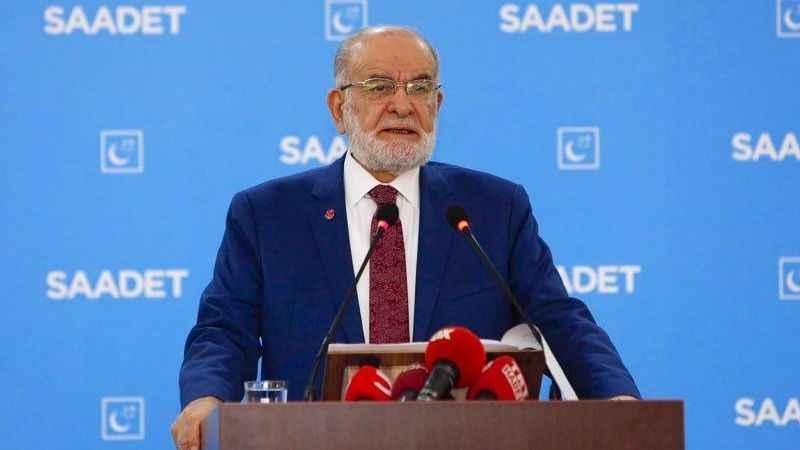 Saadet lideri Karamollaoğlu da Samsun'daki programa katılacak