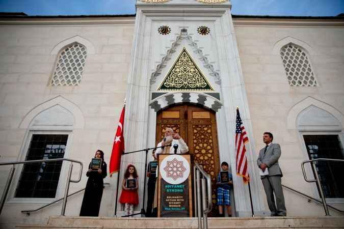 ABD'de New Haven Diyanet Camisi'nin kundaklanması