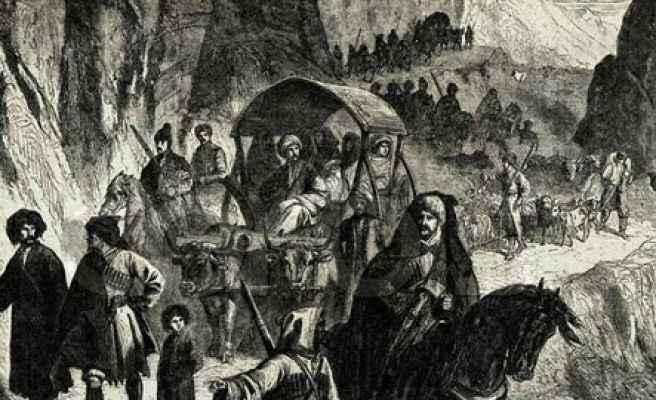 İnsanlık tarihinde kara bir leke; Çerkes Sürgünü
