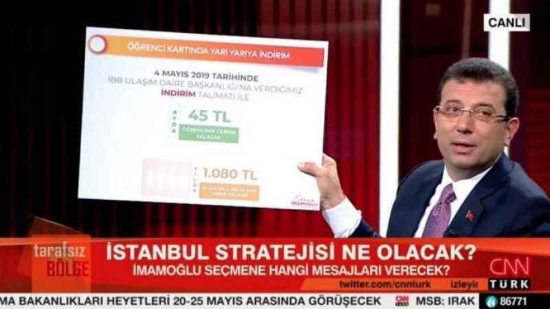 Ömer Turan: İmamoğlu dünkü programdan oylarını artırarak çıkmıştır
