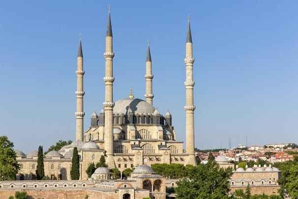 Tarihi Camilerimiz Edirne Selimiye Camii