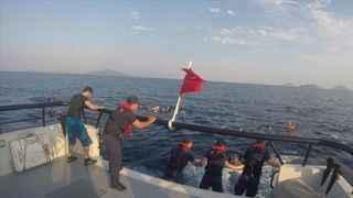 Bodrum'dan acı haber! Göçmenleri taşıyan tekne battı