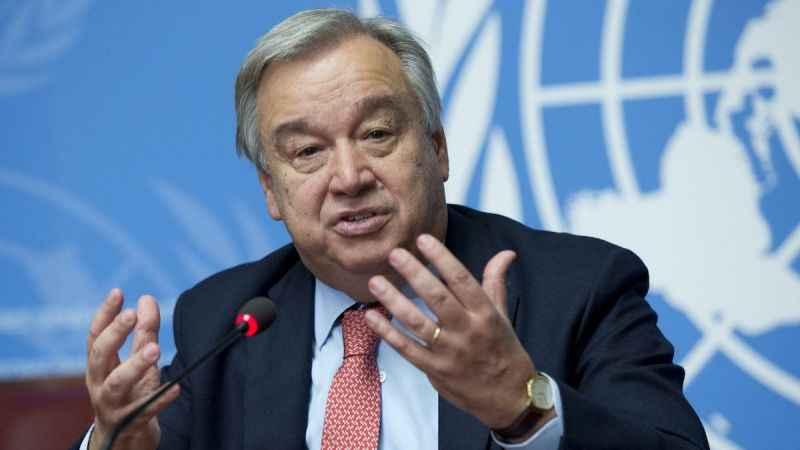 BM Genel Sekreteri Guterres: Suriye krizine askeri çözüm yok!