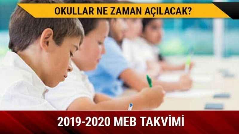 2019 Okullar ne zaman açılacak? İşte yaz tatili bitiş tarihi