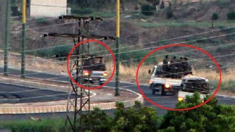 Mardin'den görüntülendi! 3 kamyonetin içinde 50 terörist