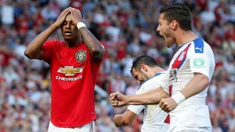 Manchester United'a Crystal Palace şoku!