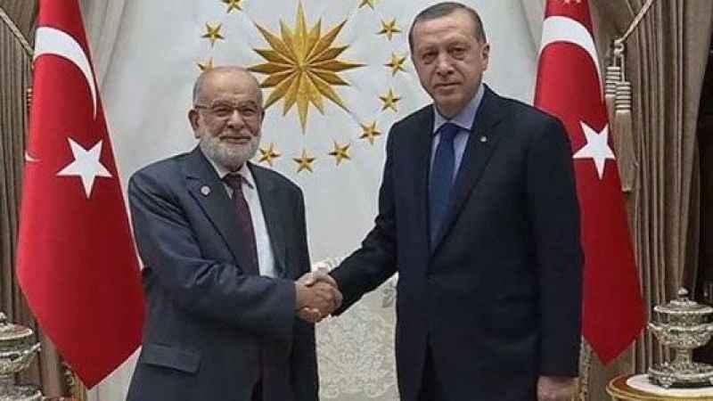 Temel Karamollaoğlu, Cumhurbaşkanı Erdoğan ile görüştü