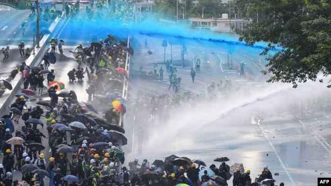 Hong Kong'daki gösteriler 99. gününde