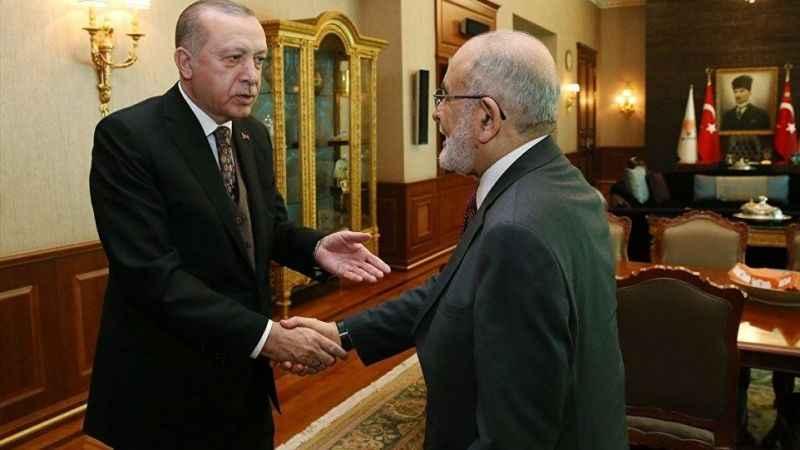 Karamollaoğlu, Erdoğan'la görüşmesine ilişkin açıklama yaptı