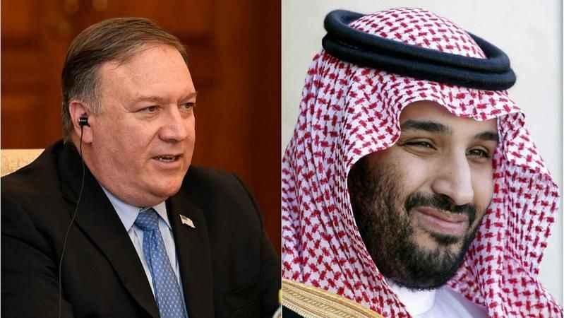 Pompei ile Prens Selman telefonda görüştü! İran'a ağır suçlama yapıldı