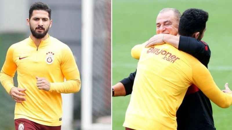 Galatasaray'da Emre Akbaba heyecanı: Koşulara başladı