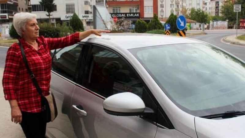 Araç alacaklar dikkat: Sıfır araç aldı, tavan komple boyalı çıktı!