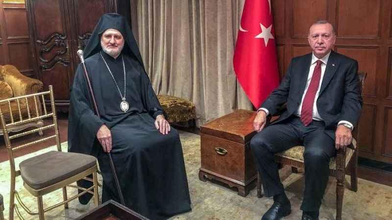 Erdoğan, ABD Cipriani Oteli'nde Başpiskoposla Ruhban Okulu'nu görüştü