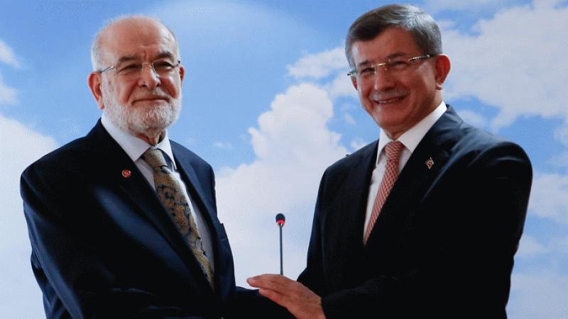 Temel Karamollaoğlu, Ahmet Davutoğlu ile görüştü: Saadet Partisi çok...