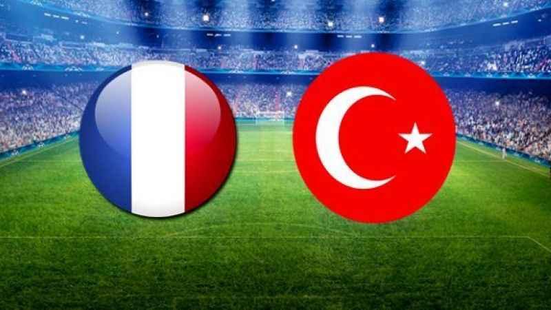 Fransa-Türkiye mücadelesi 1-1 sona erdi