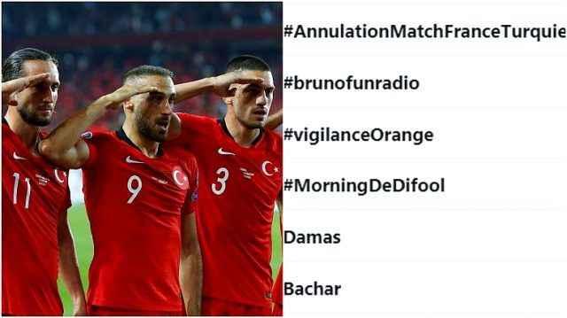 Milli maç öncesi Fransızlar sosyal medyada kampanya başlattı