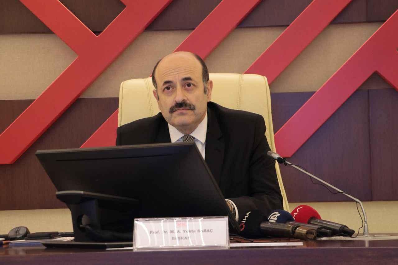 YÖK Başkanı Saraç'tan 'özel yetenek sınavı' açıklaması