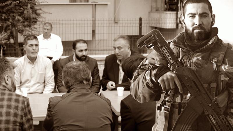 Saadet Partisi'nden şehit Yunus Mermer'in ailesine ziyaret! Babası vasiyetini açıkladı...